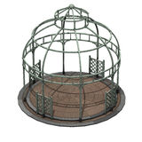 Dome iron gazebo Royalty Free Stock Photos
