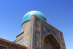 Dome of Islamic Mosque Royalty Free Stock Images