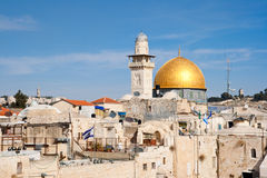 Dome - Jerusalem - Israel Stock Photos