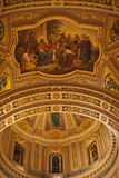 Dome of Jesus of the sacred heart church Stock Photography