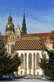 Dome from Kosice Royalty Free Stock Photo