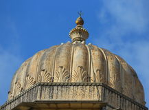 The dome of kumbhalgar fort Stock Image