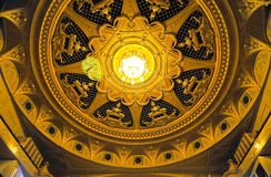 Dome of the Kyiv Opera house Stock Photo