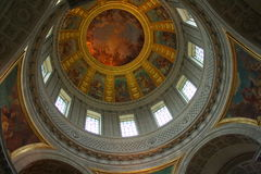 Dome of Les Invalides Royalty Free Stock Photo