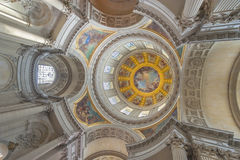 The Dome of les Invalides Royalty Free Stock Photography