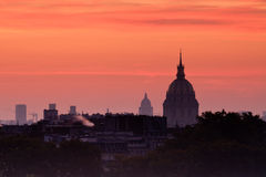 Dome of Les Invalides, Paris Stock Image