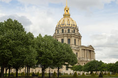 Dome les Invalides Paris France Stock Image
