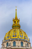 Dome of Les Invalides, Paris, France Stock Photo