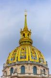 Dome of Les Invalides, Paris, France Stock Photo