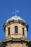 Dome on library building, Lichfield. Royalty Free Stock Images