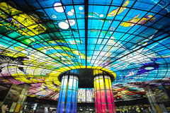 The Dome of Light at Formosa Boulevard Station Stock Photo