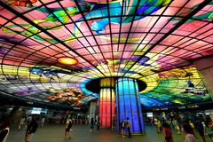 Dome of Light, Kaohsiung Royalty Free Stock Images