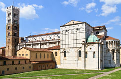 Dome of Lucca / Duomo di Lucca Royalty Free Stock Photography