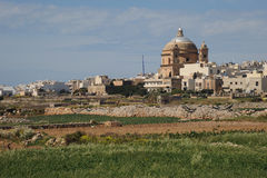 The dome of Mġarr Malta Royalty Free Stock Photo