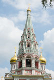 Dome of the main cathedral of the Shipka Monastery Stock Photography