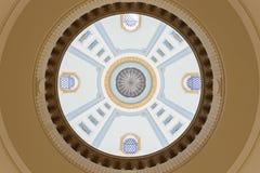 Dome of Manitoba Legislative Building in Winnipeg Royalty Free Stock Photography