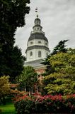 The Dome of the Maryland State Capitol Building Royalty Free Stock Image