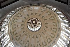 Dome of Mercado Central market, Valencia Stock Photography