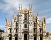 Dome of Milan Stock Images