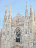 Dome milan royalty free stock photography