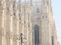 Dome milan royalty free stock image