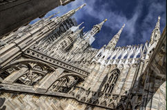 The Dome, Milan, Italy stock photo