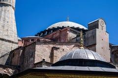 Dome and minarets of Hagia Sophia Stock Photography