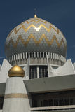 Dome and Minarets of Sabah State Mosque in Kota Kinabalu Stock Photography