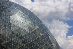 Dome at Mitchell Park Botanical Gardens Royalty Free Stock Images