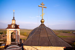 Dome of monastery Royalty Free Stock Photos