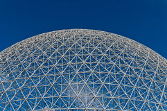 Dome of the montreal biosphere Royalty Free Stock Images
