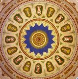 Dome, Mosaic, Symmetry, Circle Royalty Free Stock Images