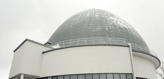 The dome of the Moscow planetarium Stock Image