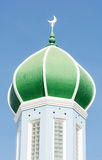 Dome of mosque on blue sky Stock Image