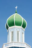 Dome of mosque on blue sky Stock Photography