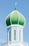 Dome of mosque on blue sky Royalty Free Stock Image