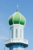 Dome of mosque on blue sky Royalty Free Stock Photo