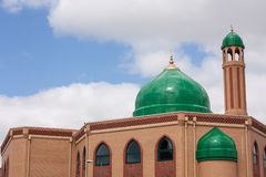 Dome of mosque. For muslim people Stock Photos