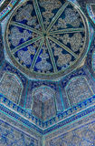 Dome of the mosque, oriental ornaments, Bukhara, Uzbekistan Stock Image