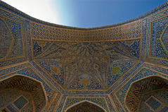 Dome of the mosque, oriental ornaments from Samark Stock Photography