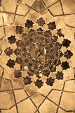 Dome of the mosque, oriental ornaments, Uzbekistan. Dome of the mosque, oriental ornaments from Bukhara, Uzbekistan Stock Photo