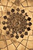 Dome of the mosque, oriental ornaments, Uzbekistan Stock Photo