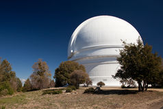 Dome of Mount Palomar Telescope Royalty Free Stock Images