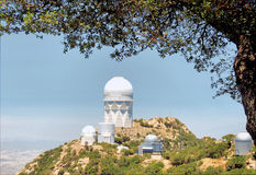 Dome on the Mountain Stock Image