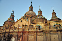 Dome and Mudejar in Saragossa Royalty Free Stock Image