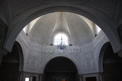 The dome, the Museum of Bardo in Tunis Stock Photography