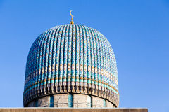 Dome of a Muslim mosque Stock Images