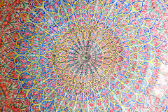 Dome of Nasir al-Mulk mosque, Shiraz Stock Photography