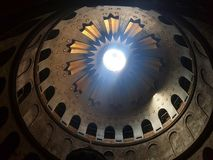 church of the nativity in Jerusalim stock image