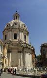 Dome near Piazza Venezia Stock Image